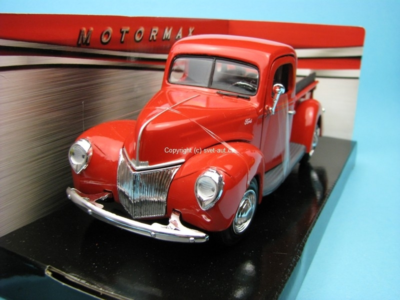 Ford Pickup 1940 Tow Truck red 1:24 Motor Max